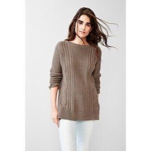 Gap Boyfriend Cable Knit Sweater